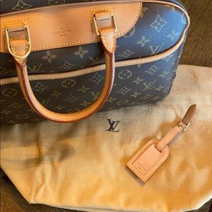 Louis Vuitton Deauville Boston Travel Bag